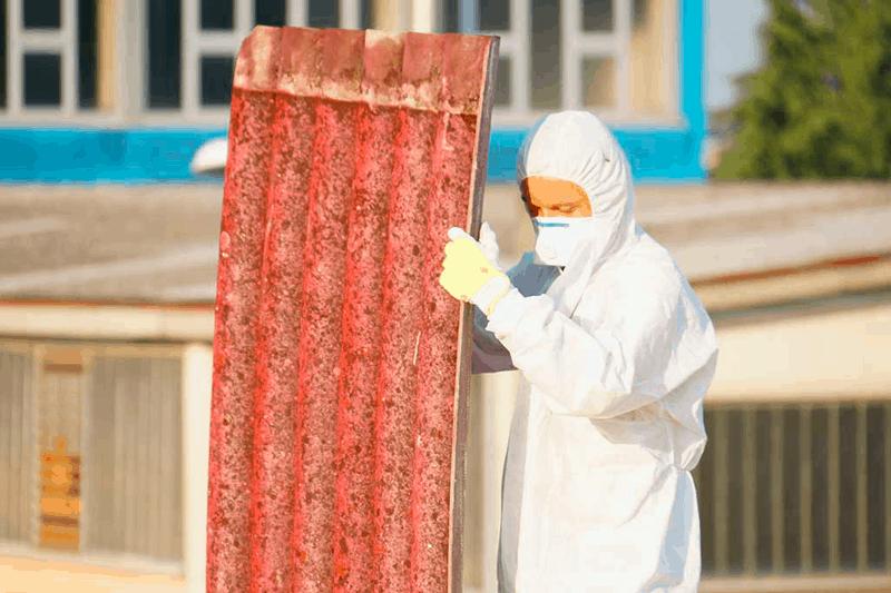 Cómo se localiza el amianto
