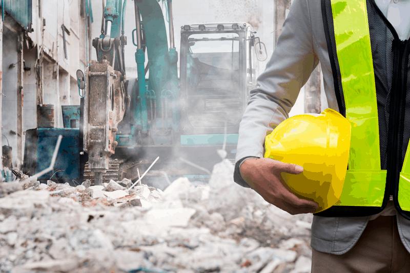 asesoramiento técnico en las demoliciones