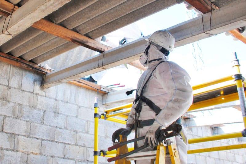 uso del amianto en la construcción