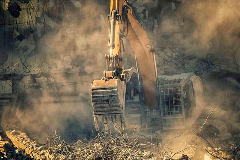 medidas preventivas en demoliciones